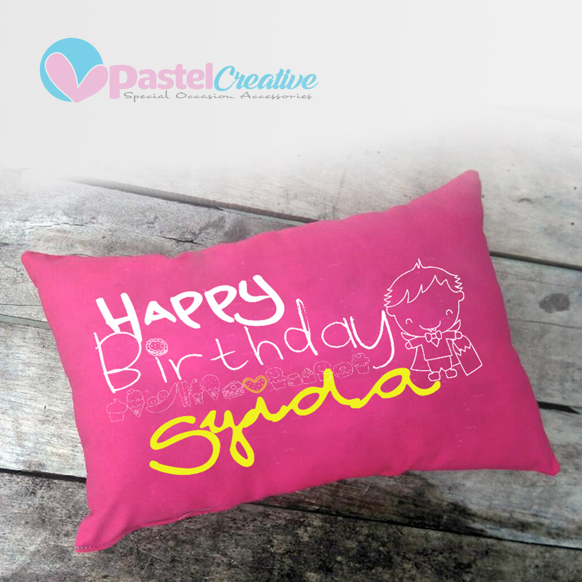 Pillow: Birthday01
