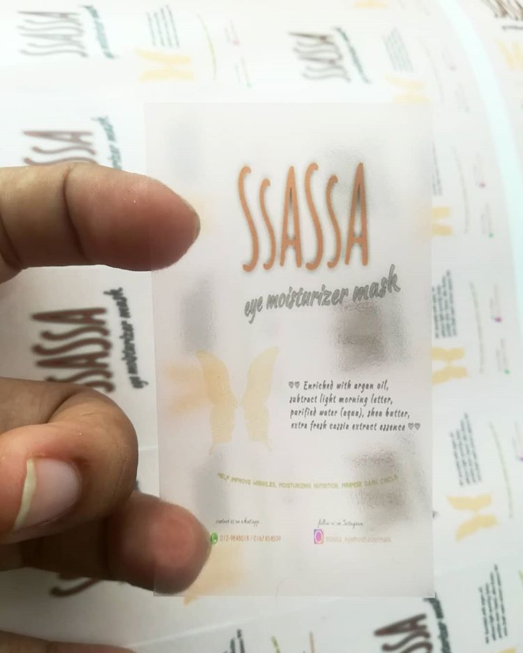 Sticker: Transparent + 4Colour