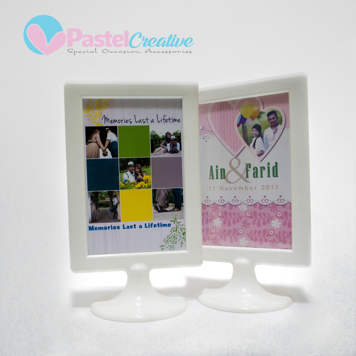 TOLSBY Frame for 2 pictures