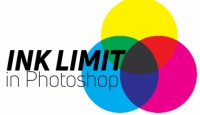 Reducing the total ink limit in CMYK images using Photoshop