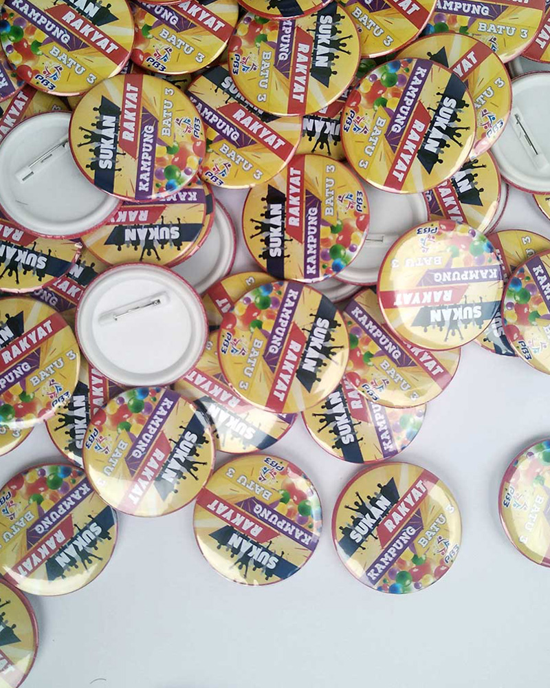 Button Badge with pin 44mm