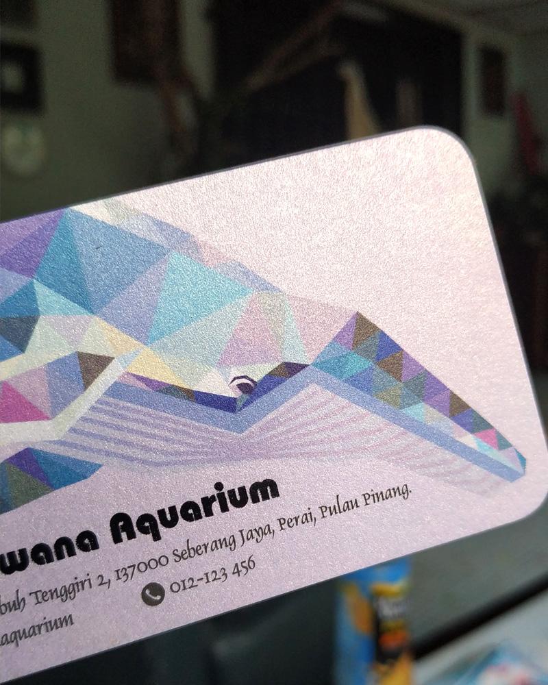Metal Ice 250gsm Card