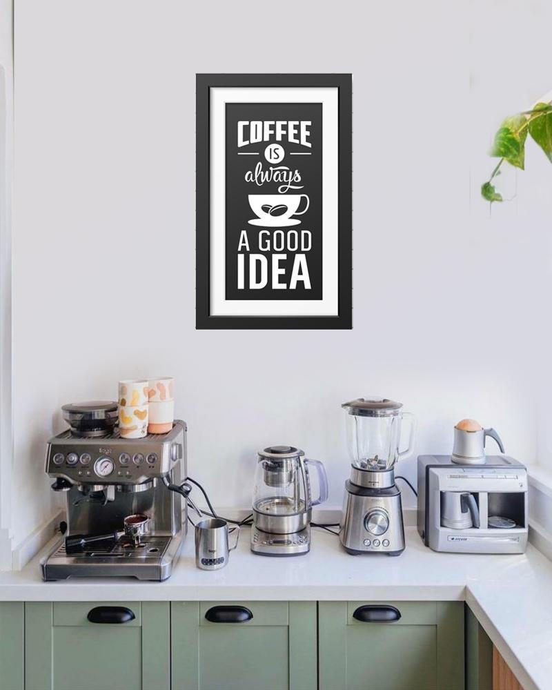 Coffee corner- Wall Decal Frame