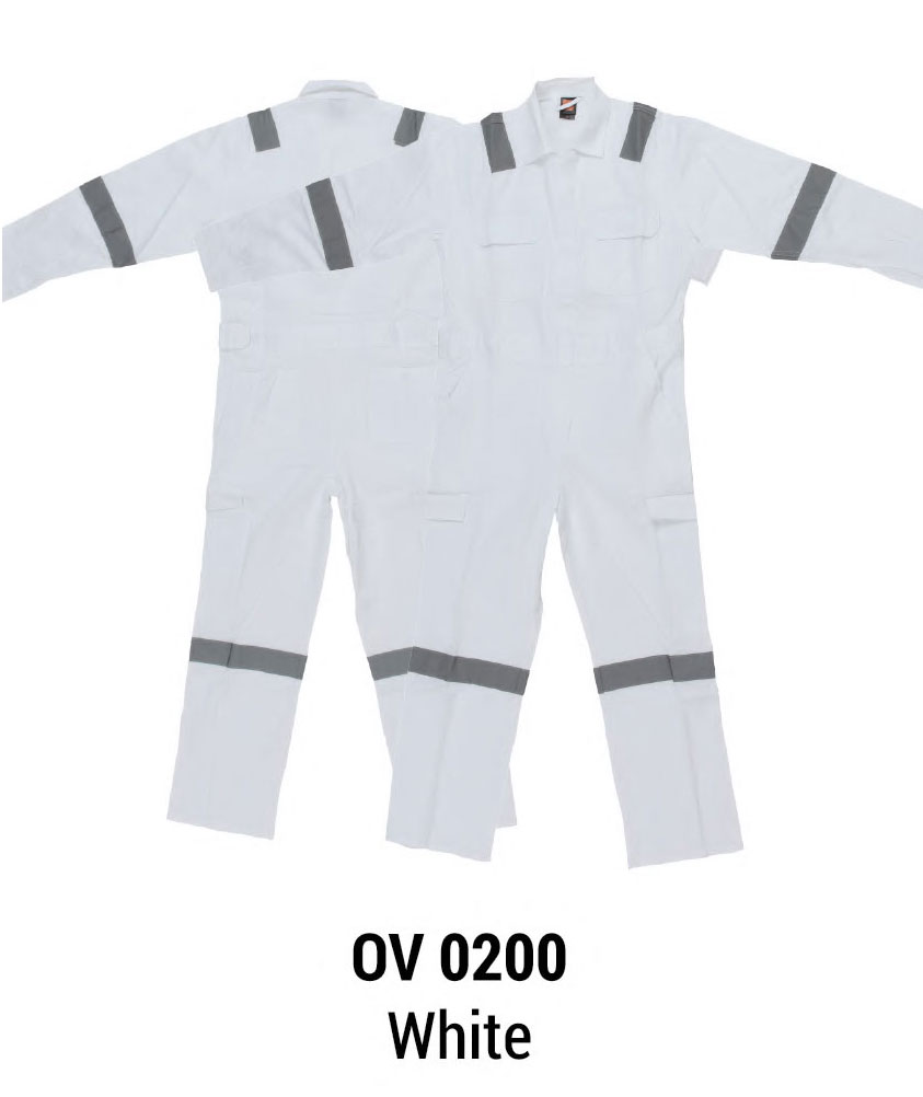 Overall with reflective tape